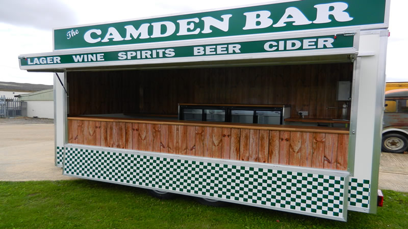 Licensed Bar Mobile Catering Trailers