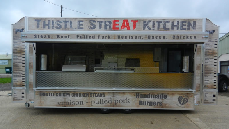 Thistle Streat Kitchen Catering Trailers