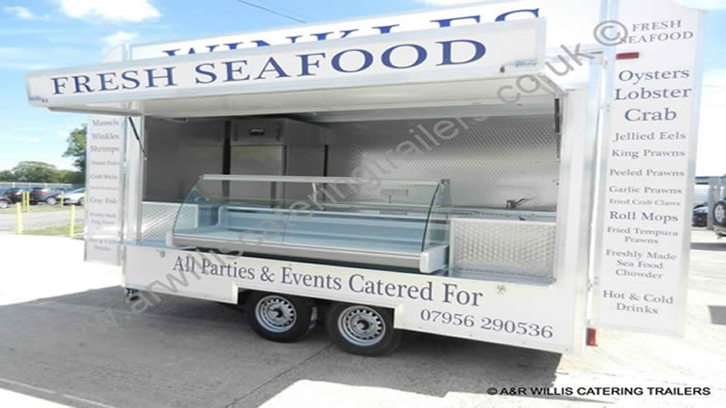 Professional Catering Trailer Range